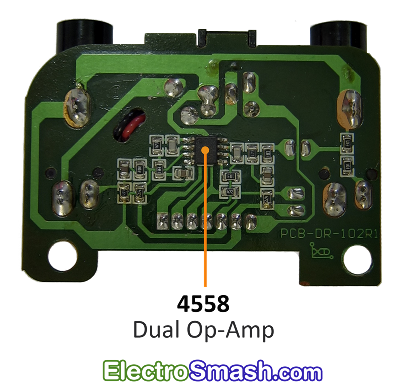 Back Talk Reverse Delay Analog PCB
