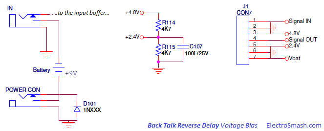 Back Talk Reverse Delay Voltage Bias