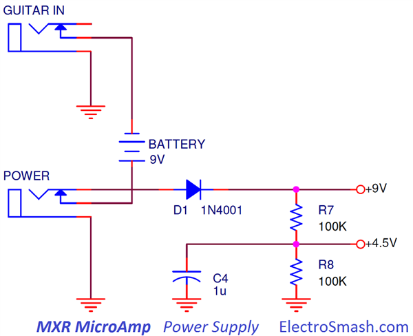 MXR MicroAmp Power Supply