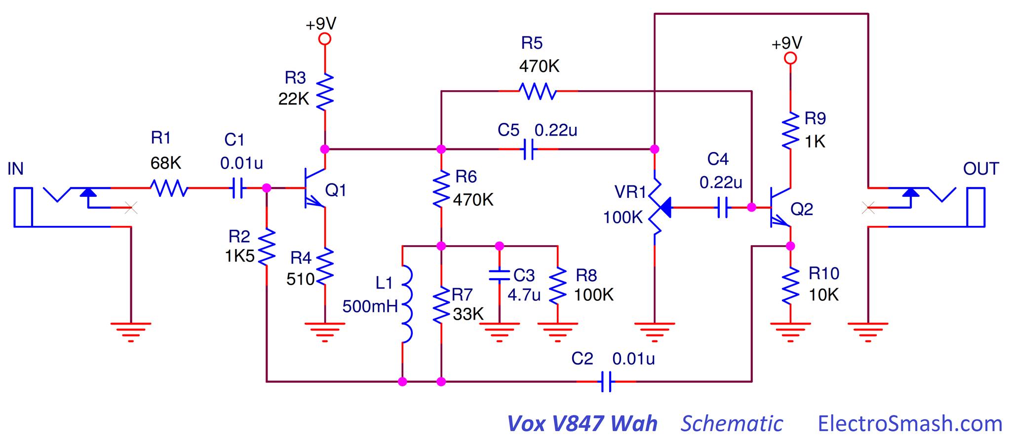 vox distortion schematics vox wiring diagram free