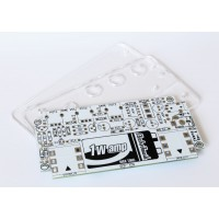 1Wamp PCB + Acrylic Covers