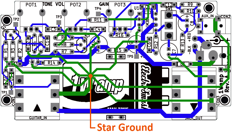 ElectroSmash - 1Wamp Electroc Guitar Amplifier. on
