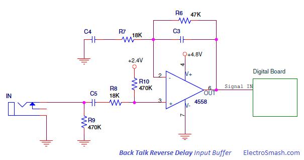 electrosmash back talk analysis rh electrosmash com Light Bulb Circuit Diagram Circuit Diagram Symbols