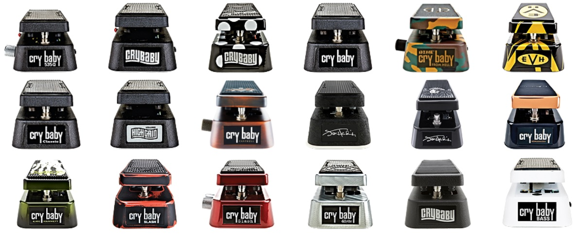 cry baby wah signature models electrosmash dunlop crybaby gcb 95 circuit analysis