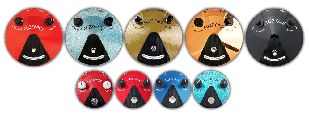 fuzz face pedals family