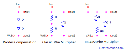Vbe Multiplier Topologies
