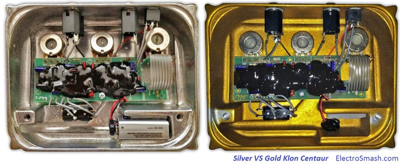 klon centaur silver vs gold small