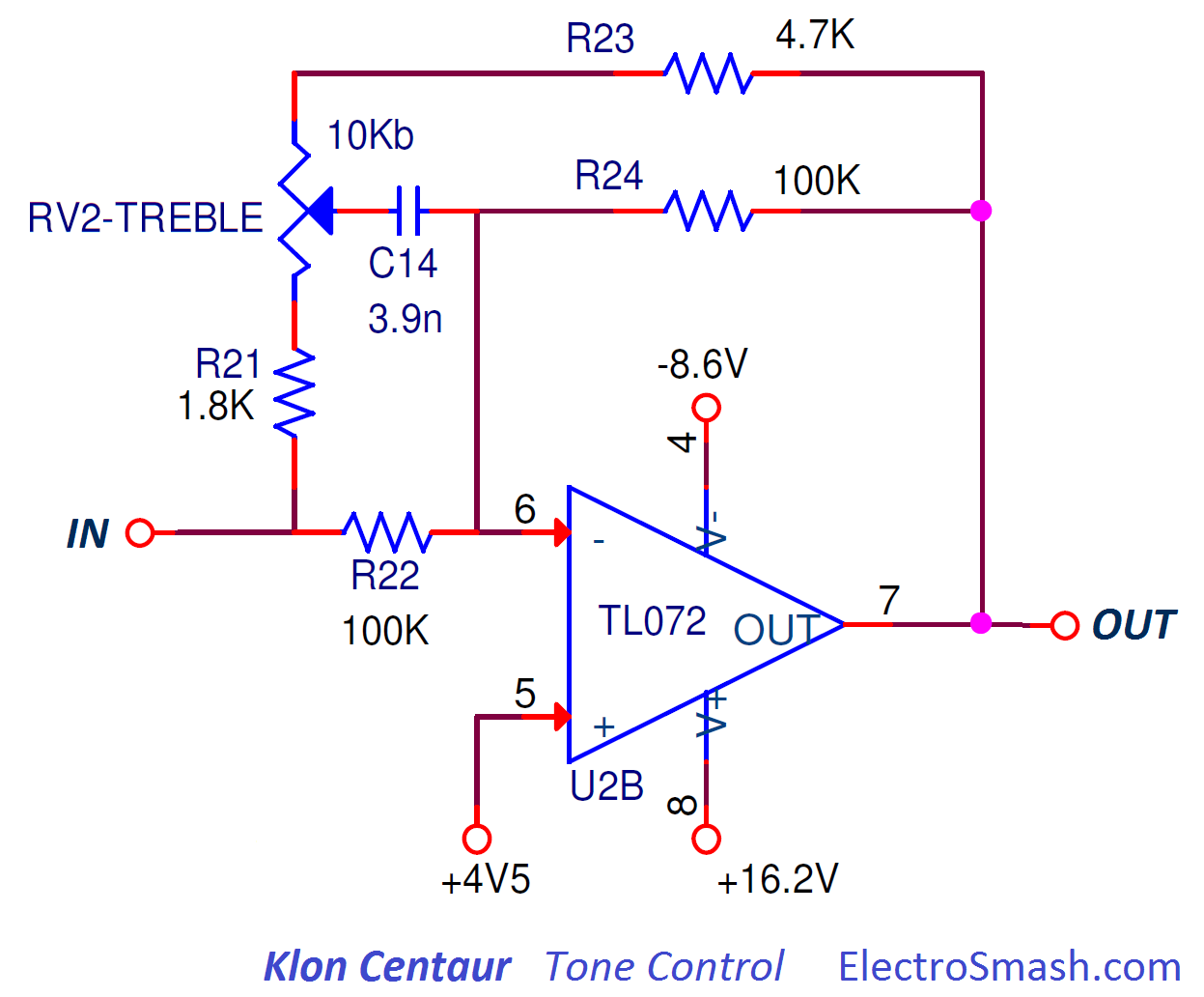 ElectroSmash - Klon Cenatur Analysis