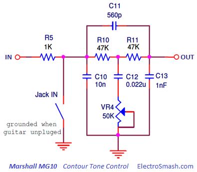 ElectroSmash - Marshall MG10 ysis. on marshall amp parts list, fender amp wiring diagrams, marshall dsl amp schematics, marshall guitar amp schematics,