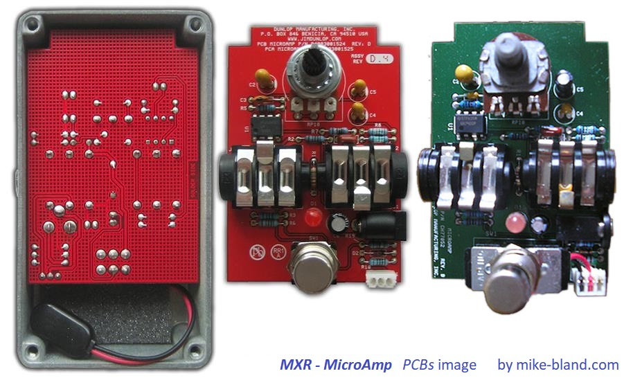 mxr micoramp pcb by mike bland