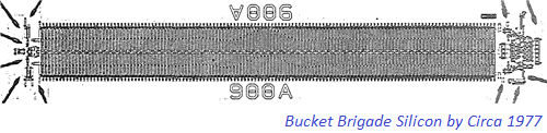 Bucket Brigade Device Silicon