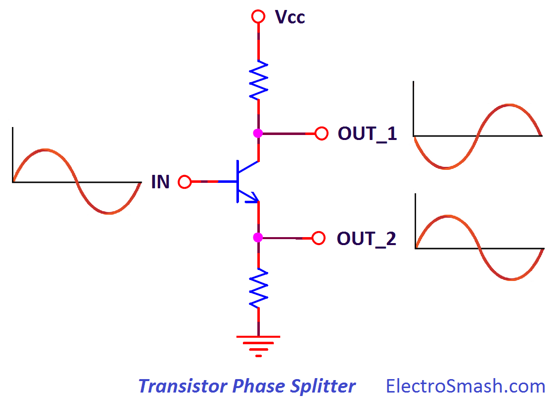 Electrosmash Mxr Dyna Comp Analysis Envelope Detector Circuit Output Phase Splitter
