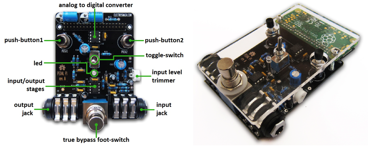 micro with audio jack diagram electrosmash pedal pi raspberry pi zero guitar pedal  electrosmash pedal pi raspberry pi zero guitar pedal