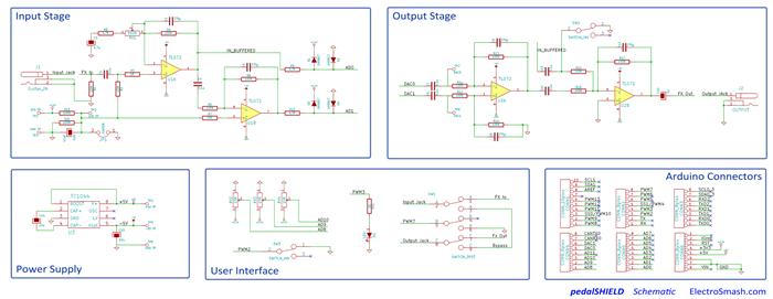 pedalshield schematic