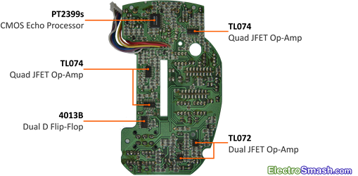 Sitar Swami Main PCB Circuit Bottom