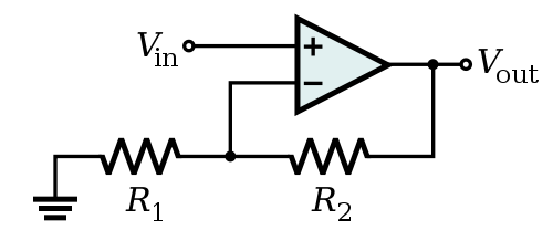 Op Amp Non Inverting Amplifier