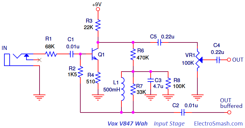 Vox Wah Wiring Diagram - Wiring Diagram Post Wah Pedal Wiring Diagram on
