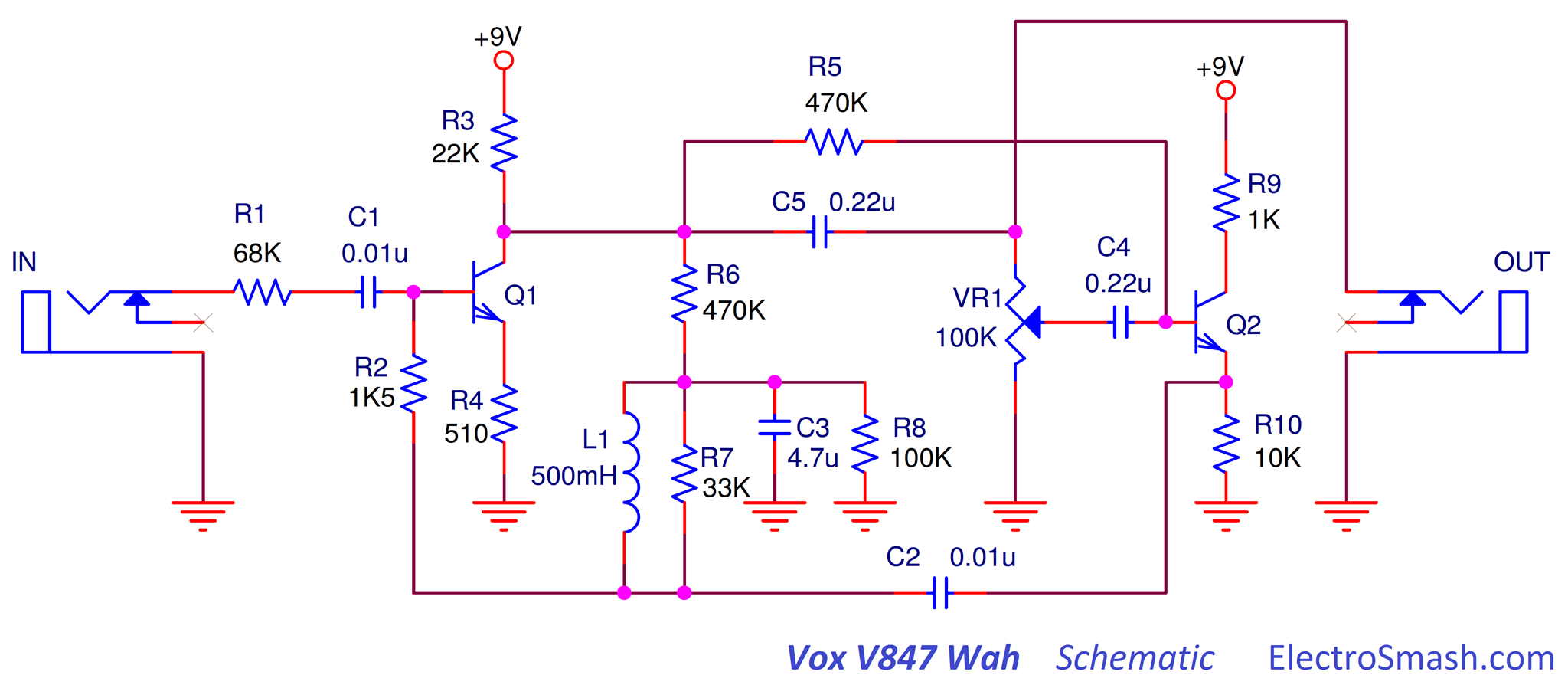 ElectroSmash - Selected Schematics on dunlop wah schematic, fulltone wah schematic, vox ac15cc1 schematic, fixed wah pedal schematic, vox 847 wah mods, vox tone bender pedal schematic, vox v846 wah mod, vox ac30 schematic, vox 847 schematic, hiwatt wah schematic, cry baby vox schematic, vox pathfinder schematic, morley wah pedal schematic, vox tone bender reissue schematic,